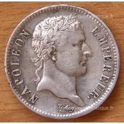 1 Franc Napoleon I République 1808 H La Rochelle