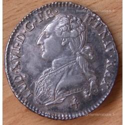 Louis XVI 1/2 Ecu buste habillé 1789 A paris 9/8