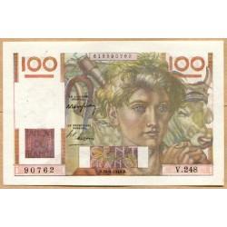 100 Francs Paysan 29-4-1948 V.248