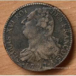 2 Sols François 1791 A point sur A